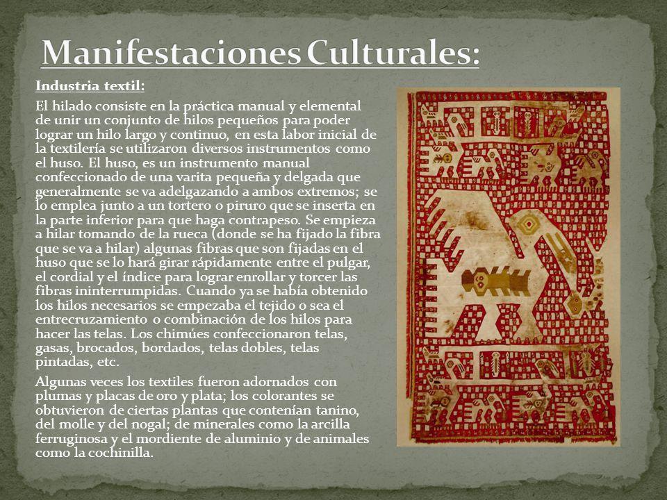 Manifestaciones Culturales: