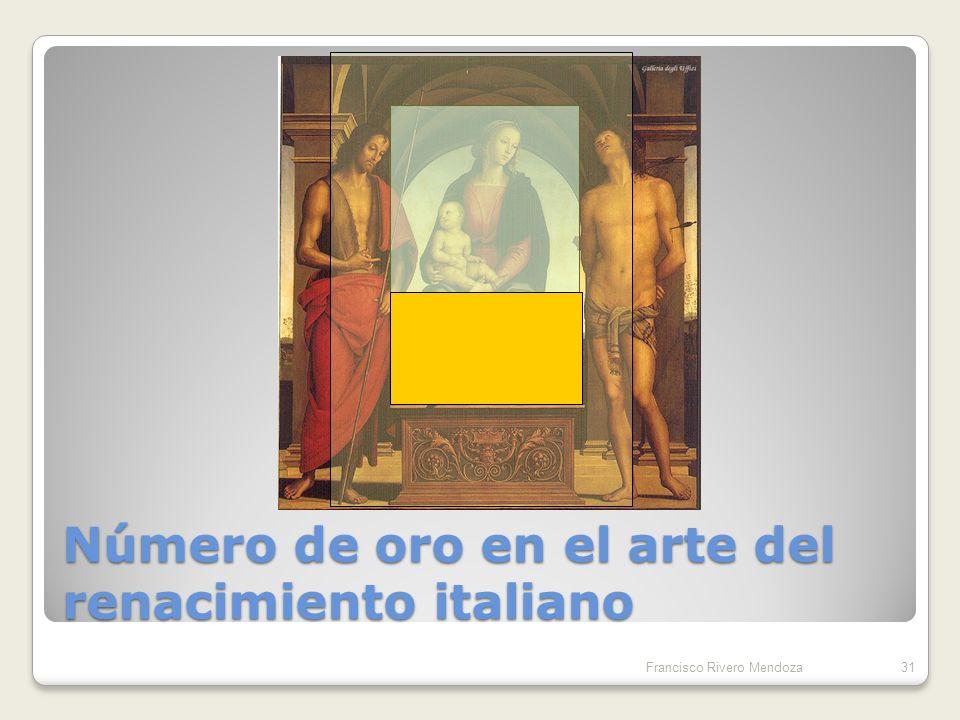 Número de oro en el arte del renacimiento italiano