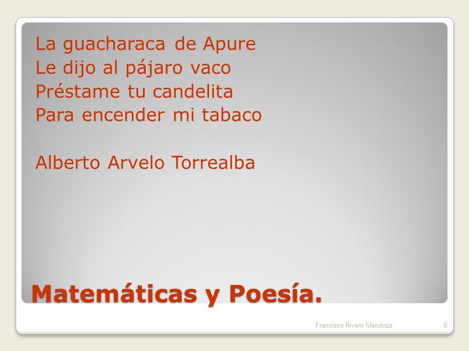 La guacharaca de Apure Le dijo al pájaro vaco Préstame tu candelita Para encender mi tabaco Alberto Arvelo Torrealba