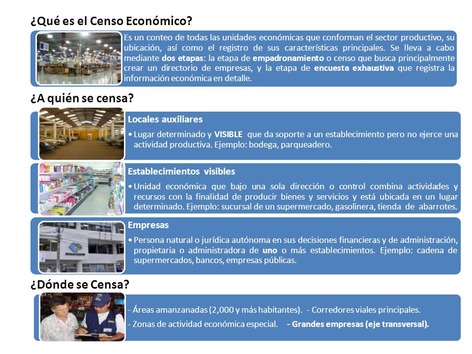 ¿Qué es el Censo Económico