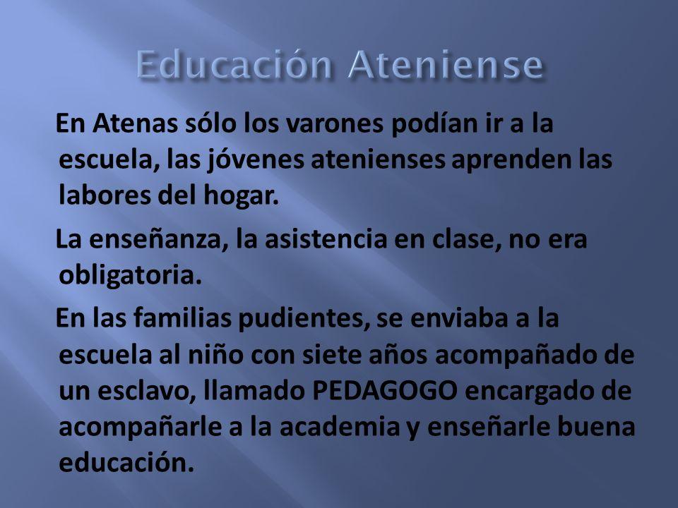Educación Ateniense
