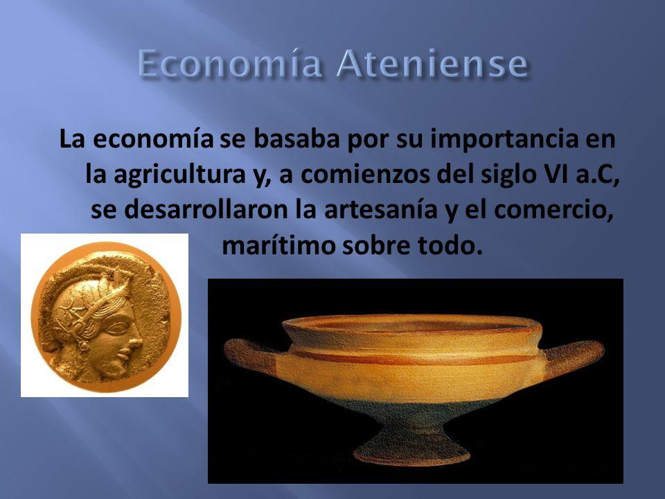 Economía Ateniense