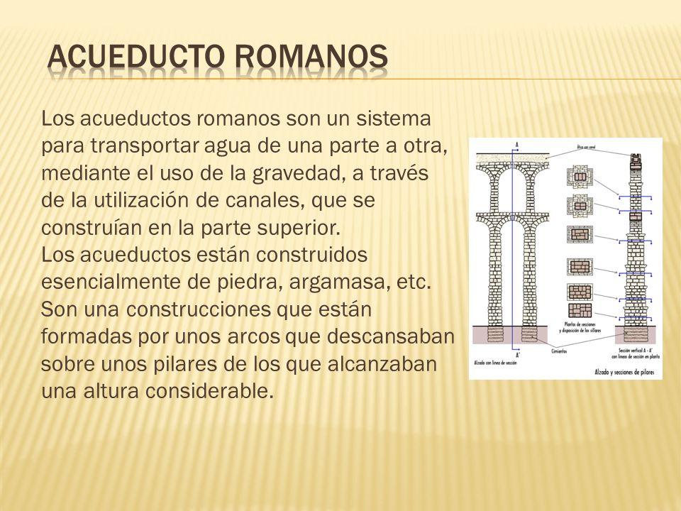Acueducto romanos
