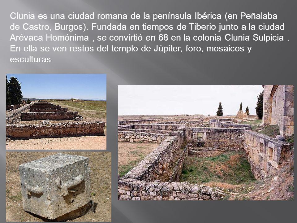 Clunia es una ciudad romana de la península Ibérica (en Peñalaba de Castro, Burgos).