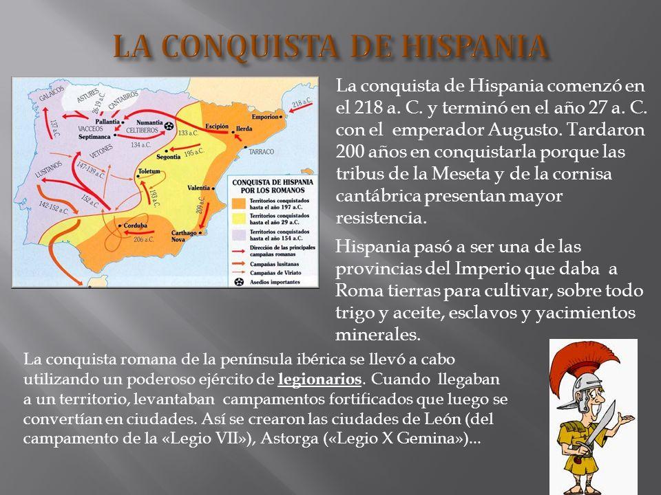 LA CONQUISTA DE HISPANIA