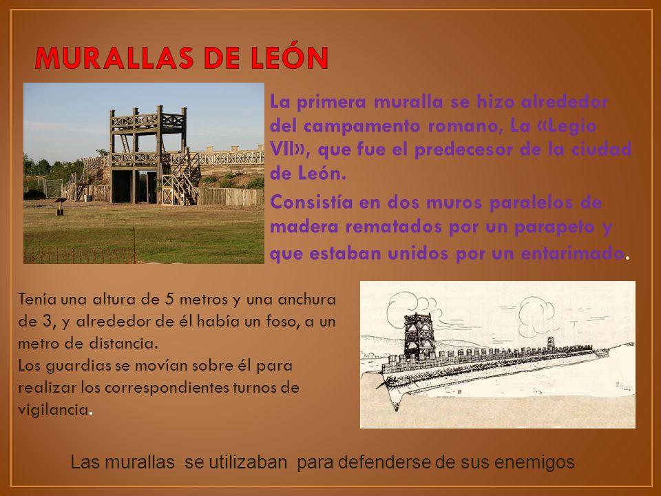 MURALLAS DE LEÓN