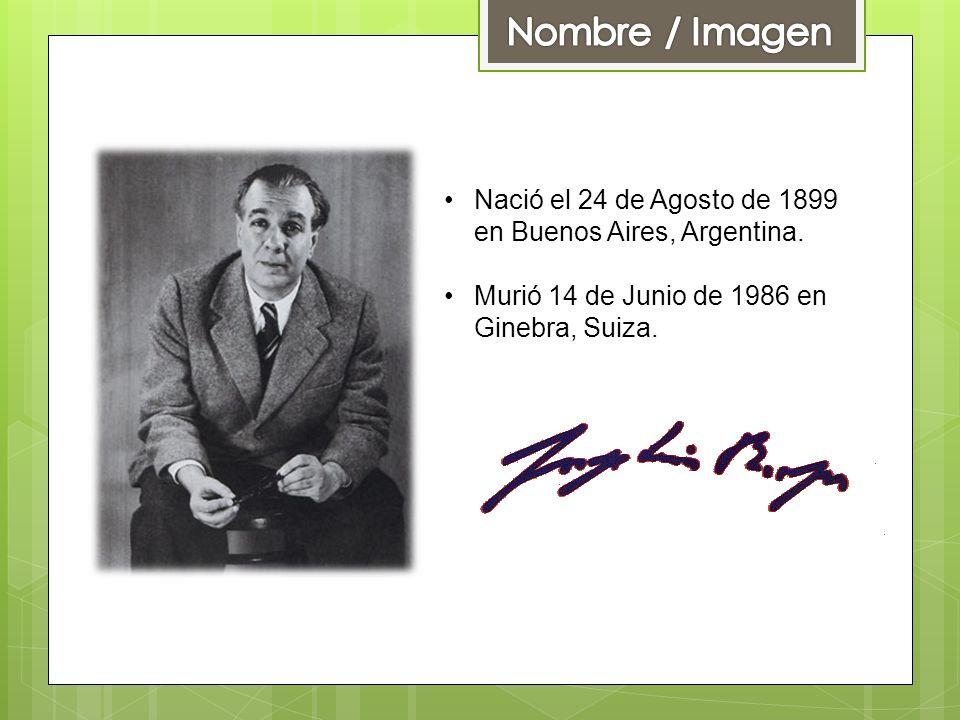Nombre / Imagen Nació el 24 de Agosto de 1899 en Buenos Aires, Argentina.