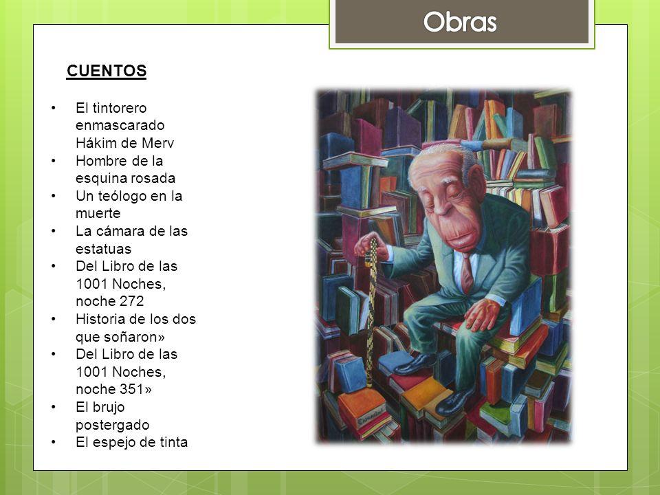 Obras CUENTOS El tintorero enmascarado Hákim de Merv
