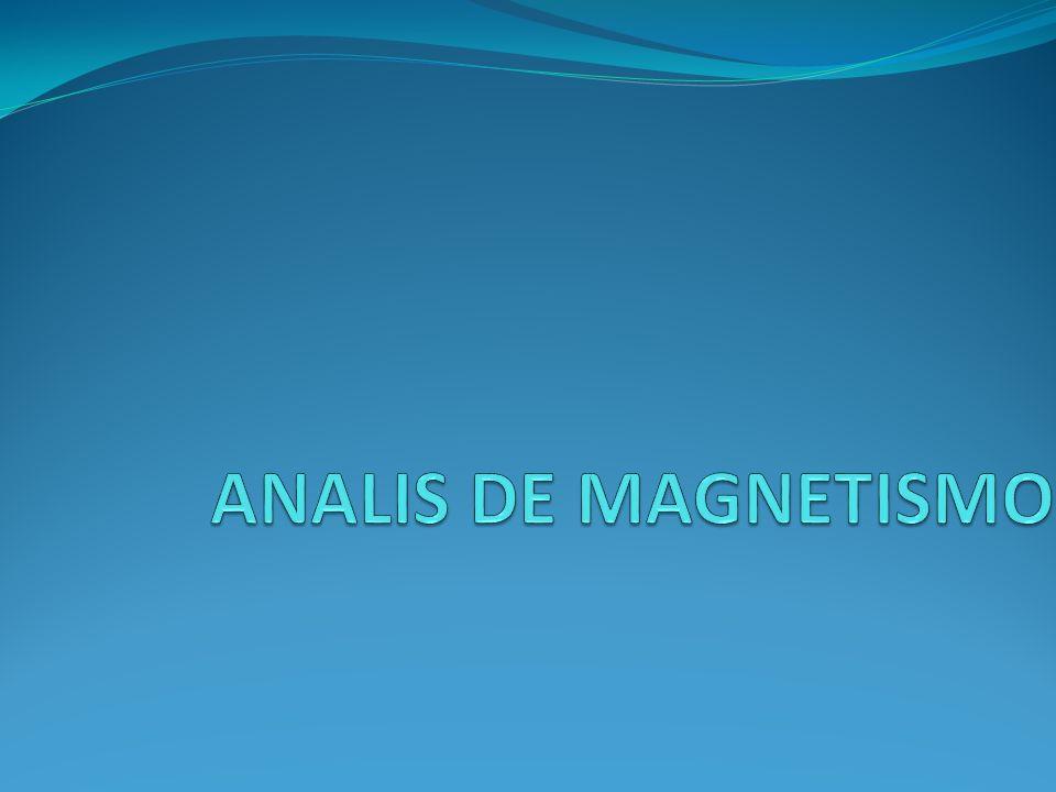 ANALIS DE MAGNETISMO