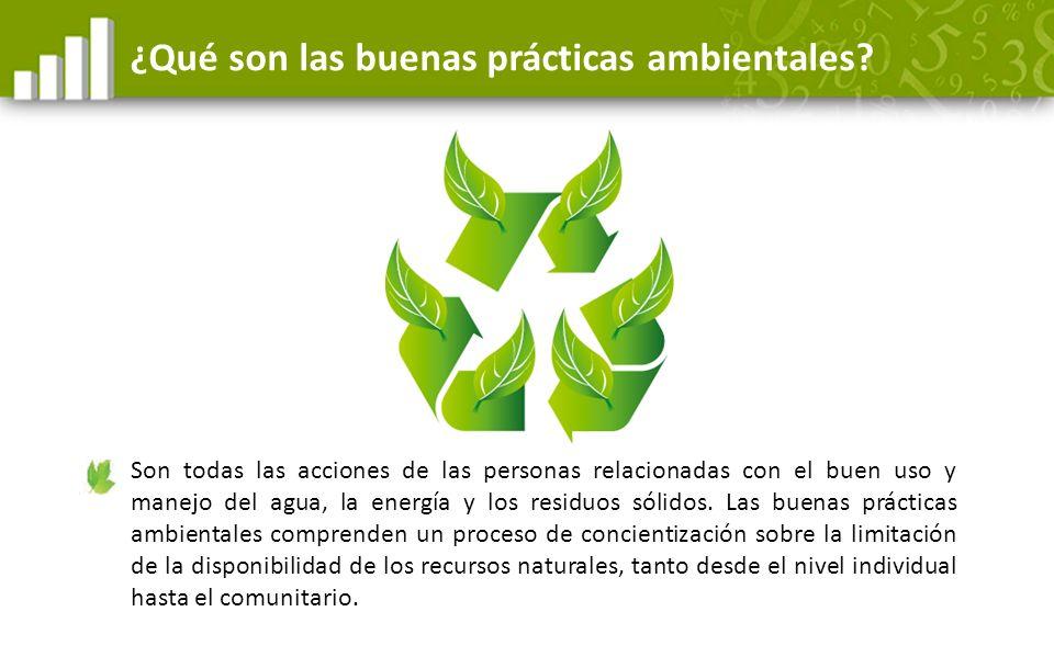 ¿Qué son las buenas prácticas ambientales