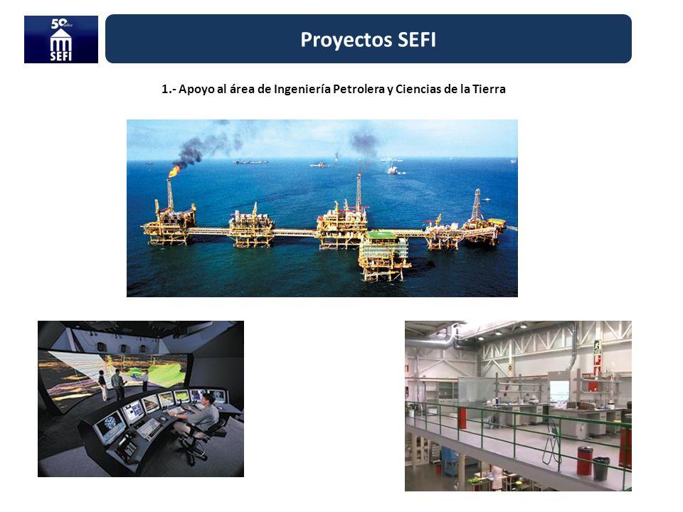 1.- Apoyo al área de Ingeniería Petrolera y Ciencias de la Tierra