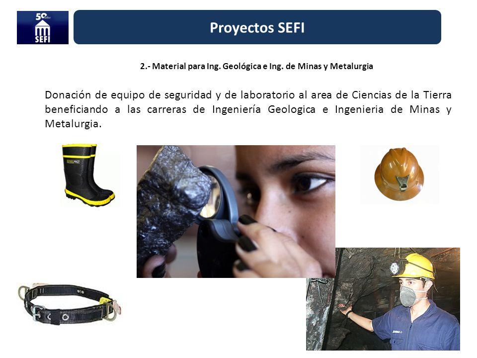 2.- Material para Ing. Geológica e Ing. de Minas y Metalurgia