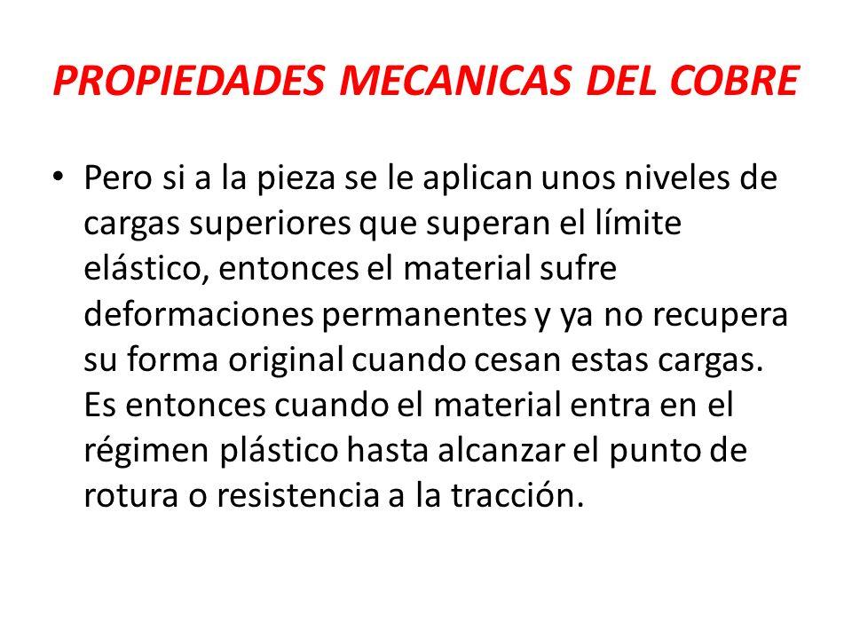 PROPIEDADES MECANICAS DEL COBRE