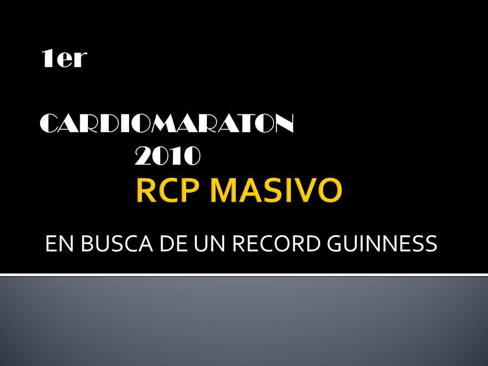 EN BUSCA DE UN RECORD GUINNESS