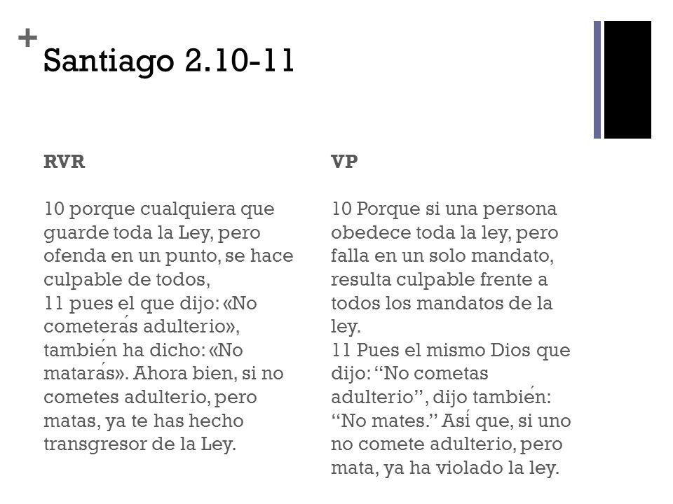 Santiago 2.10-11