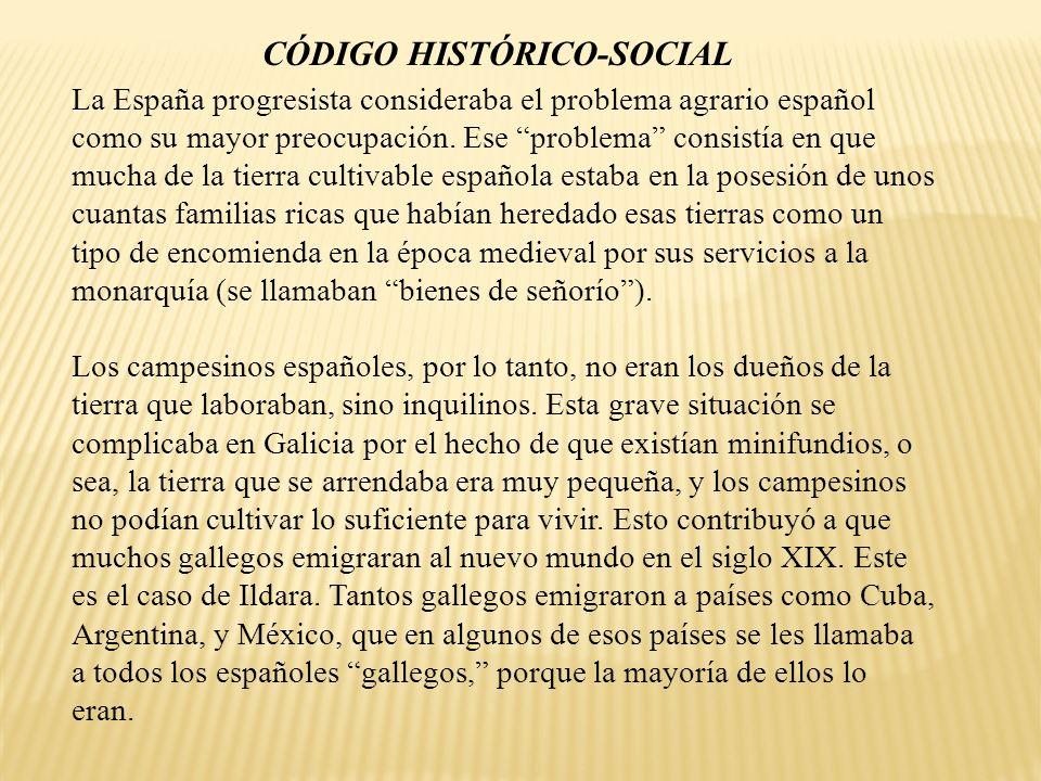 CÓDIGO HISTÓRICO-SOCIAL