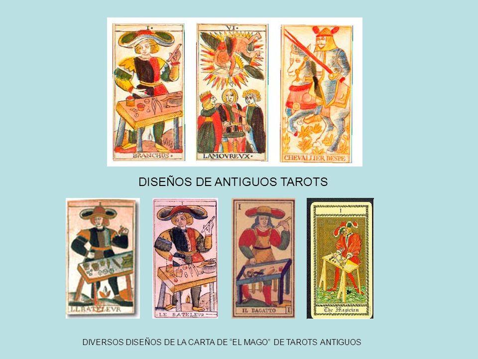 DISEÑOS DE ANTIGUOS TAROTS