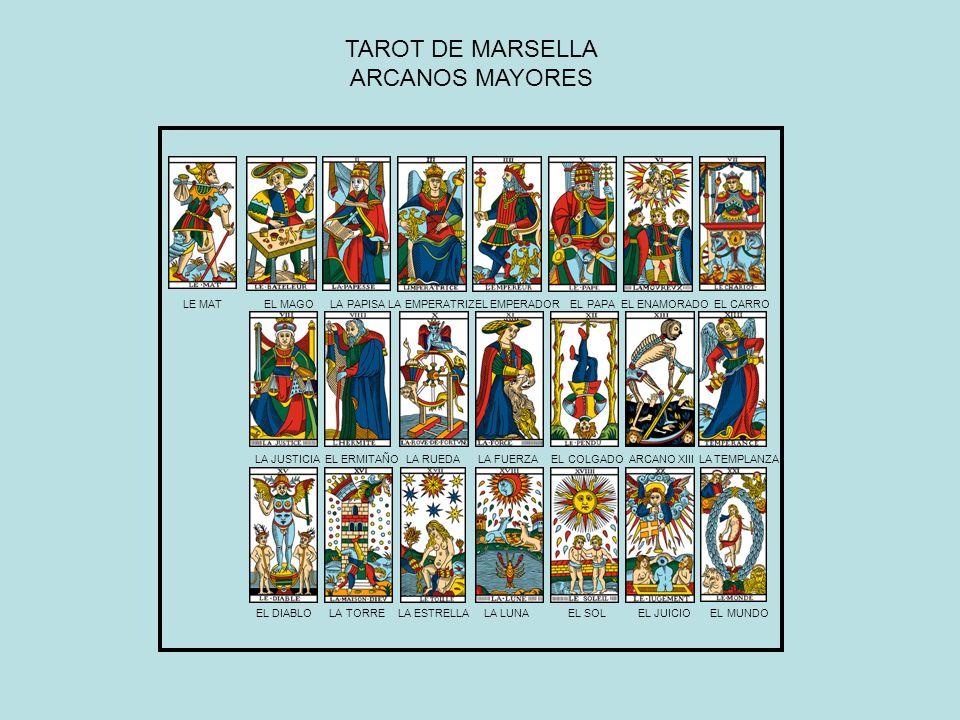TAROT DE MARSELLA ARCANOS MAYORES