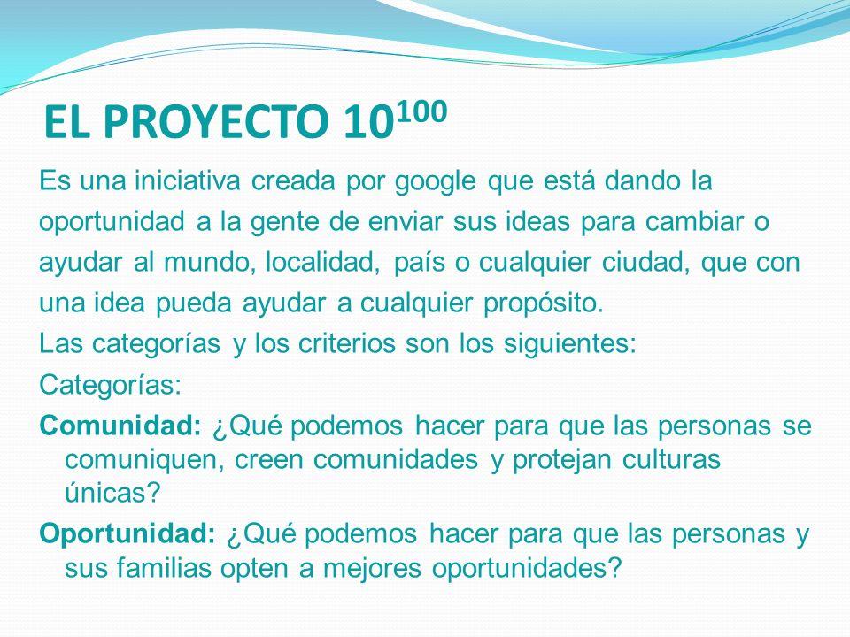 EL PROYECTO 10100