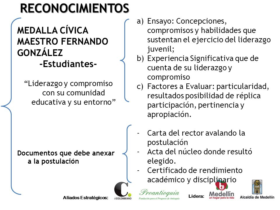 Liderazgo y compromiso con su comunidad educativa y su entorno