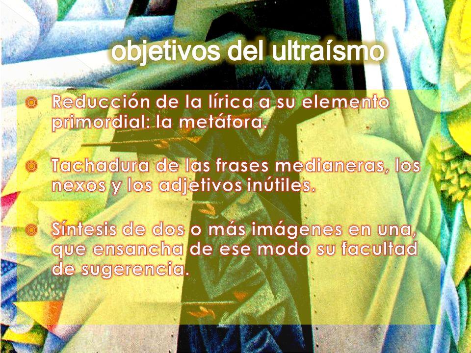 objetivos del ultraísmo