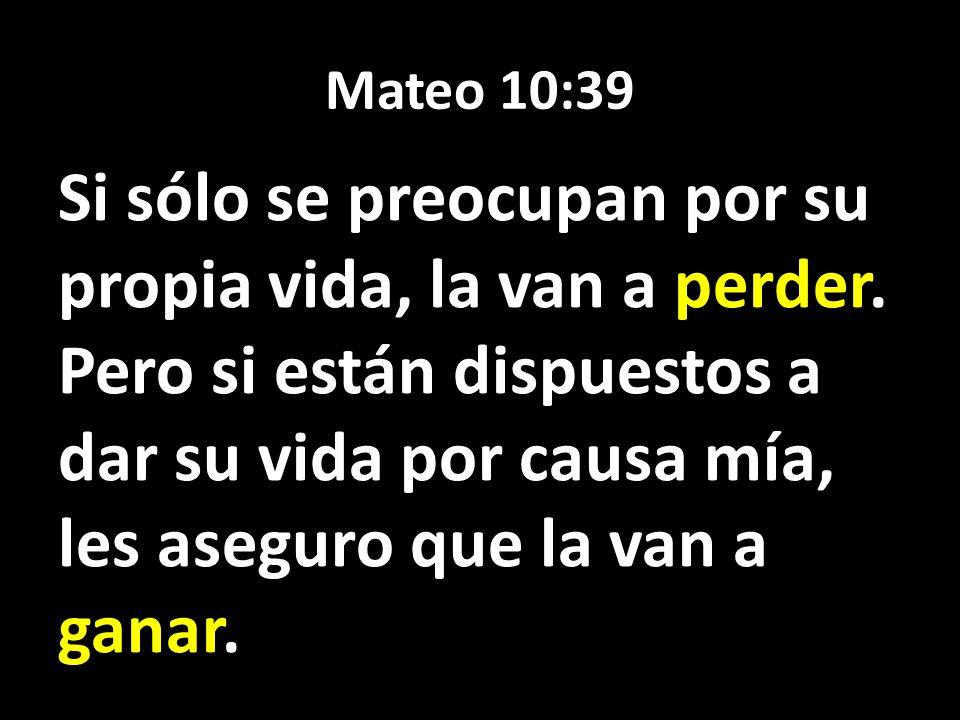 Mateo 10:39