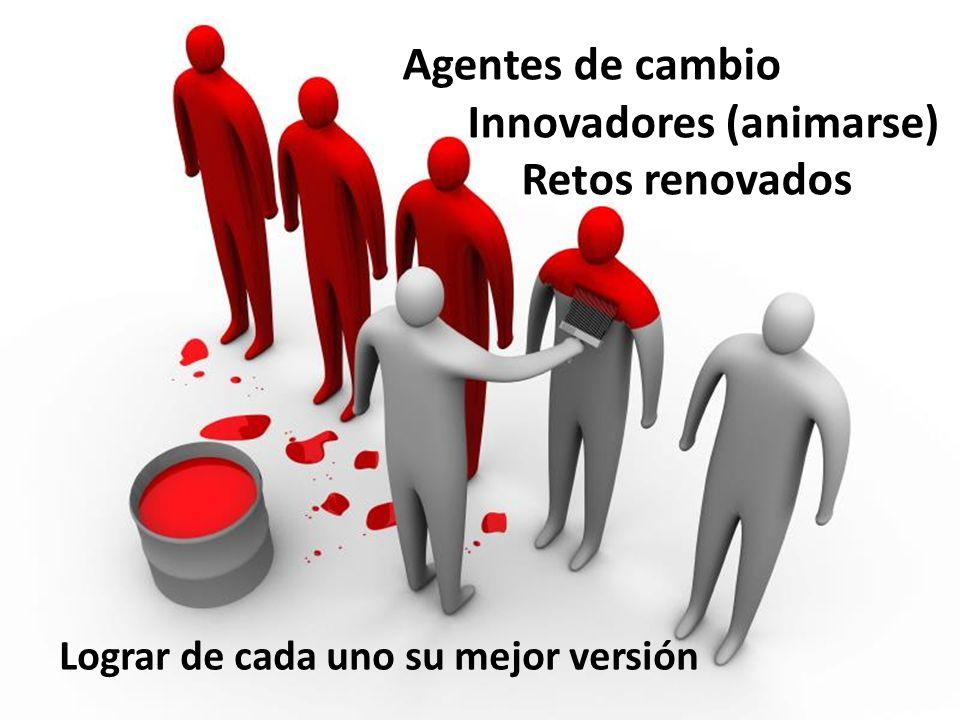 Innovadores (animarse) Retos renovados