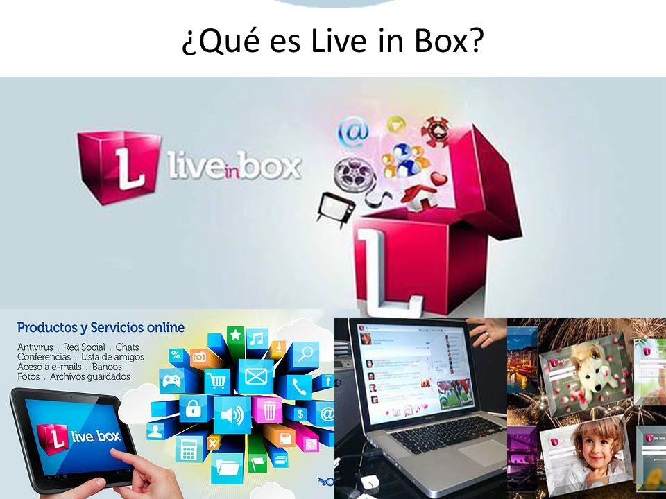 ¿Qué es Live in Box