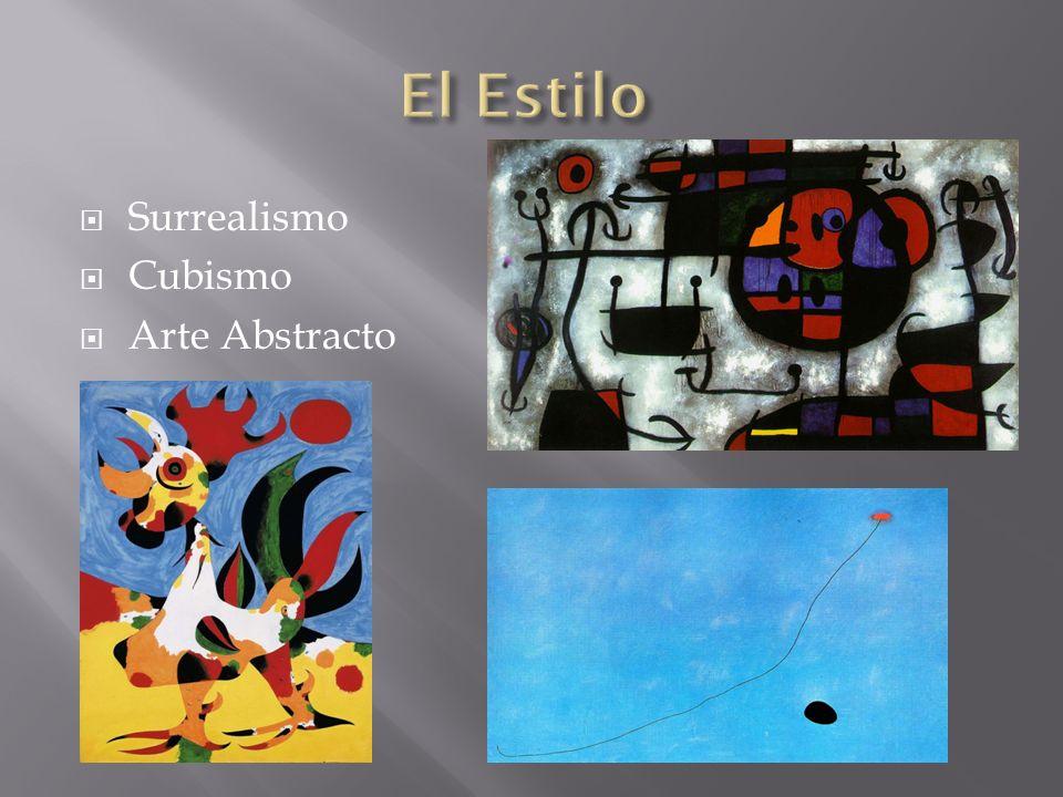 El Estilo Surrealismo Cubismo Arte Abstracto