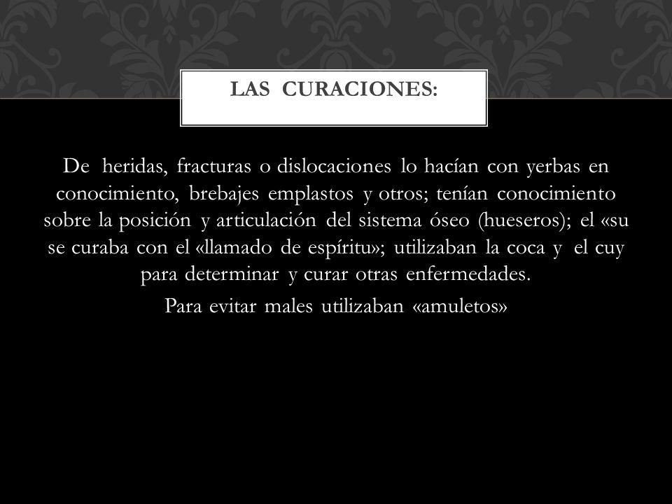 LAS CURACIONES: