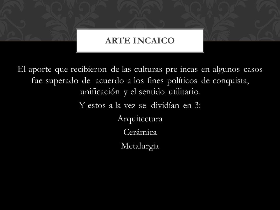 Arte incaico