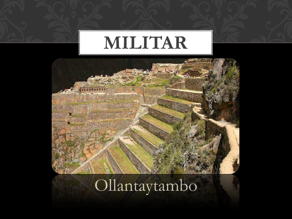Militar Ollantaytambo