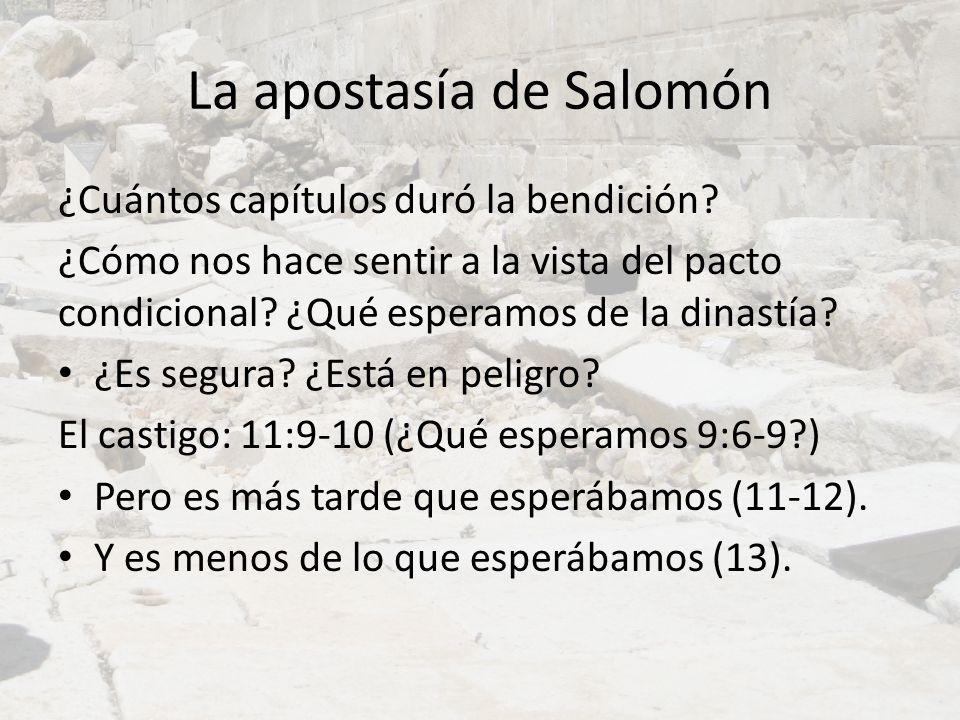 La apostasía de Salomón