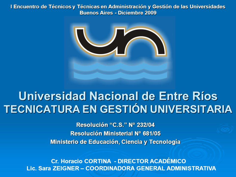 I Encuentro de Técnicos y Técnicas en Administración y Gestión de las Universidades