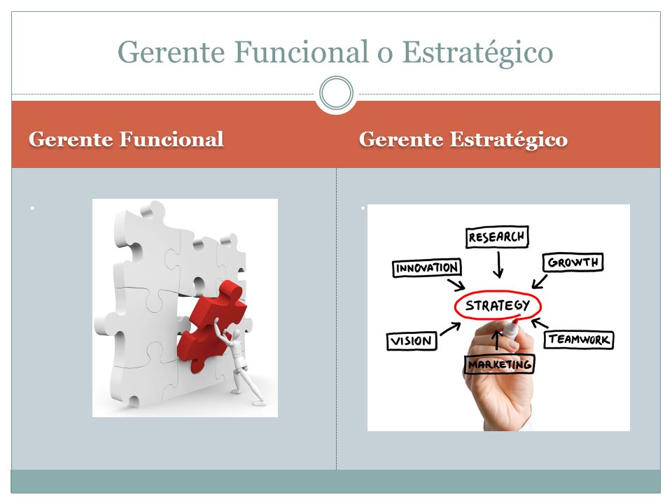 Gerente Funcional o Estratégico