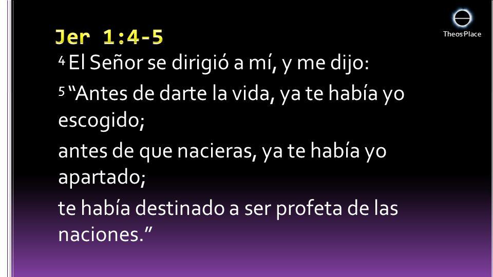 Jer 1:4-5