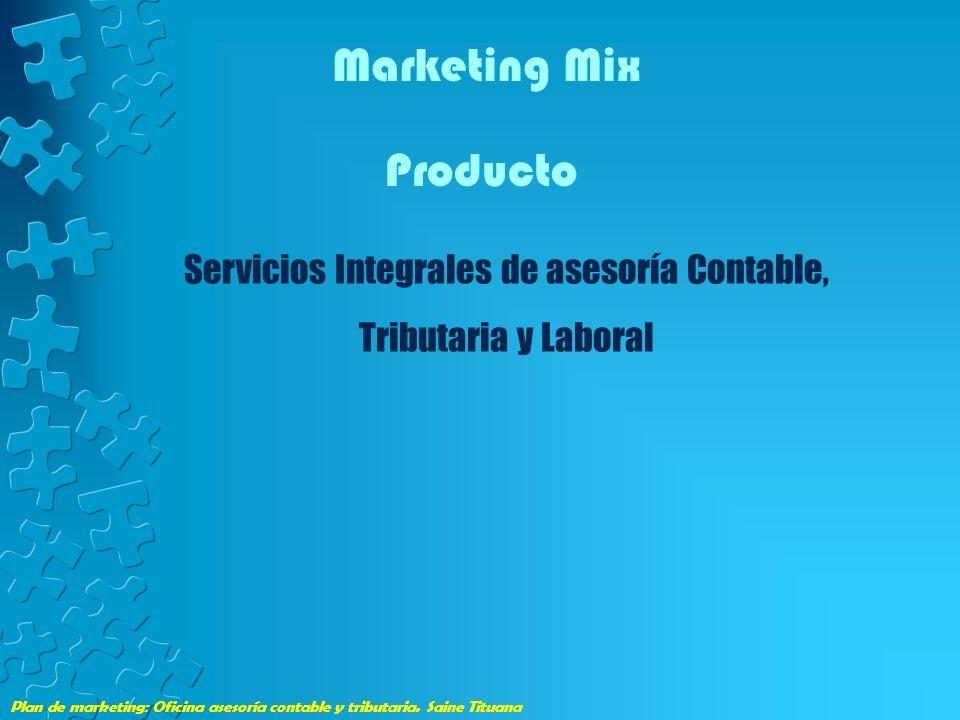 Servicios Integrales de asesoría Contable, Tributaria y Laboral
