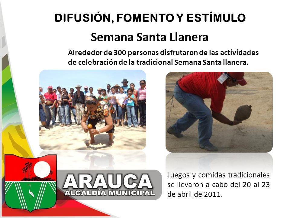 Semana Santa Llanera DIFUSIÓN, FOMENTO Y ESTÍMULO