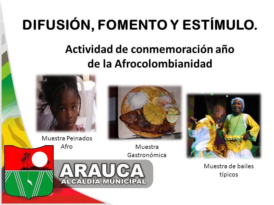 Actividad de conmemoración año de la Afrocolombianidad