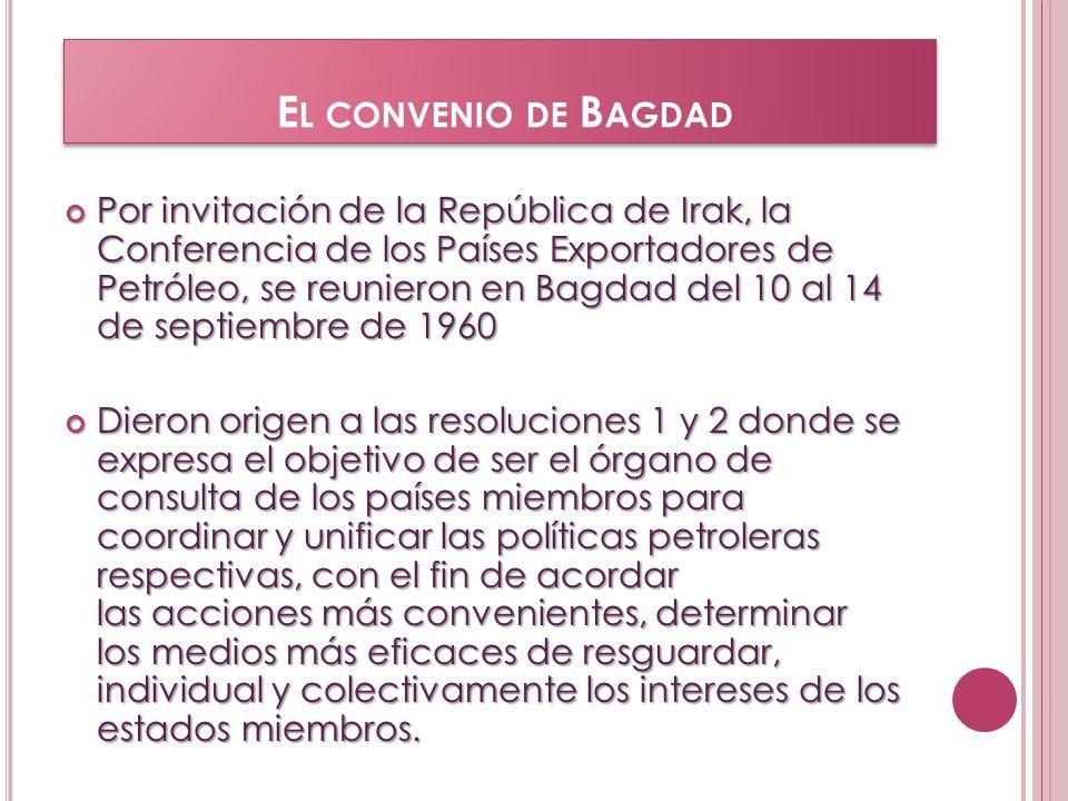 El convenio de Bagdad