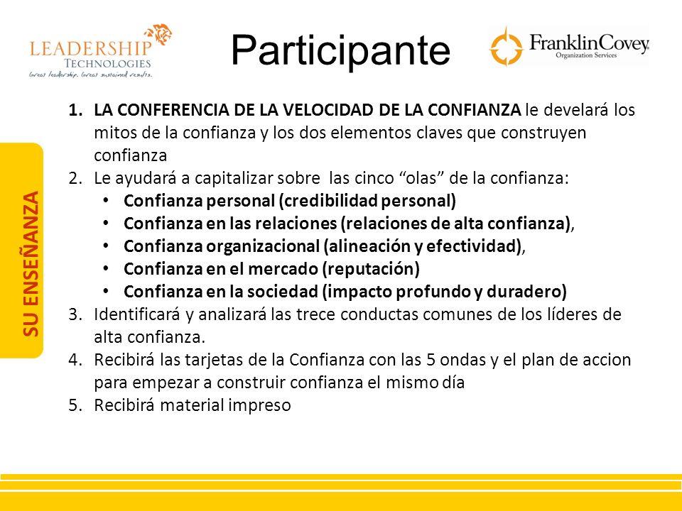Participante SU ENSEÑANZA