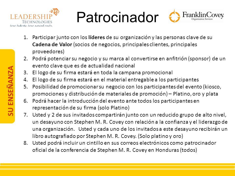 Patrocinador SU ENSEÑANZA