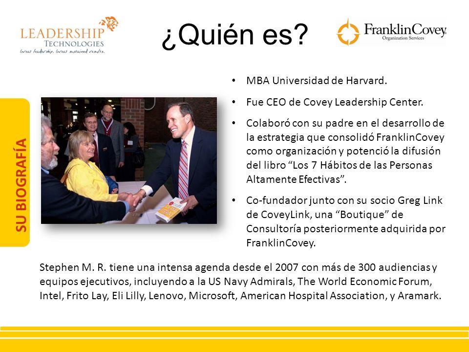 ¿Quién es SU BIOGRAFÍA MBA Universidad de Harvard.