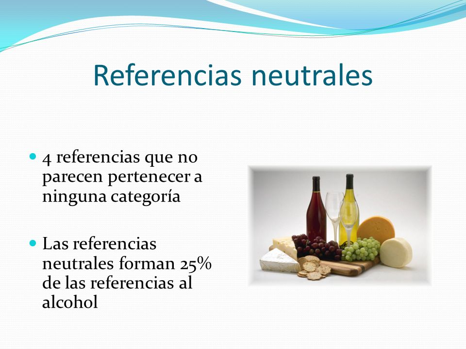 Referencias neutrales