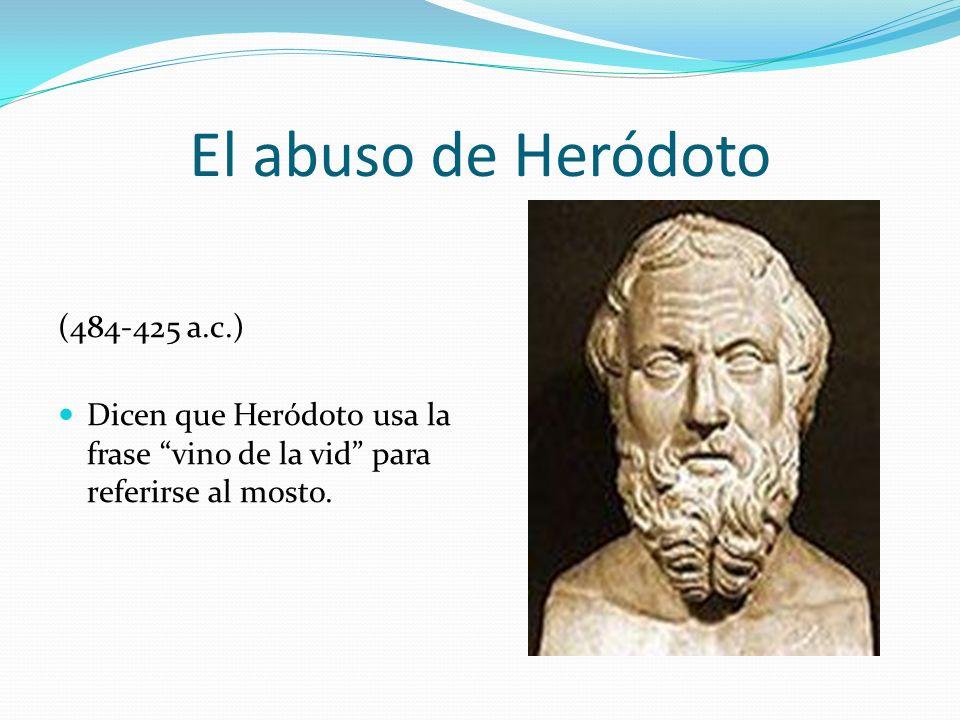 El abuso de Heródoto (484-425 a.c.)