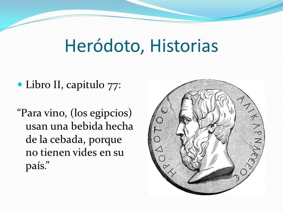 Heródoto, Historias Libro II, capitulo 77: