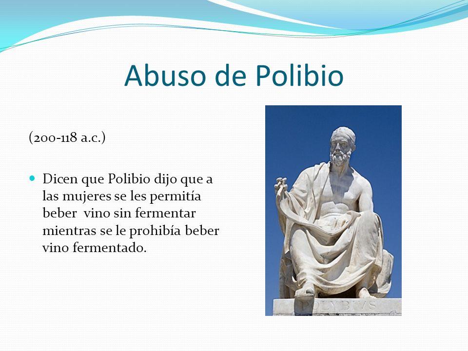 Abuso de Polibio (200-118 a.c.)