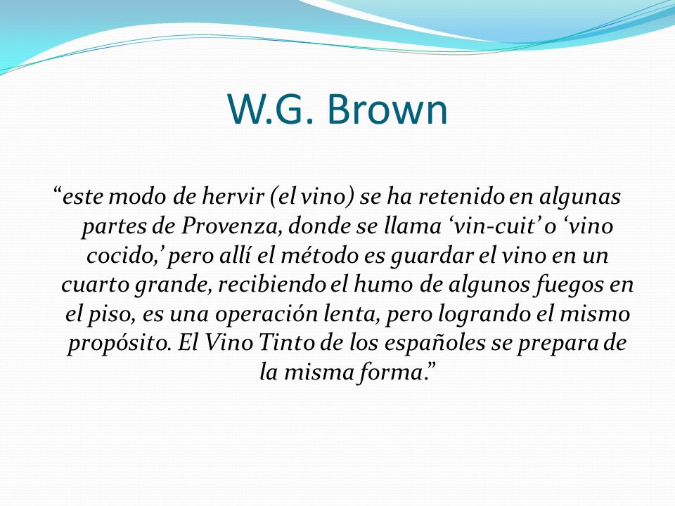 W.G. Brown