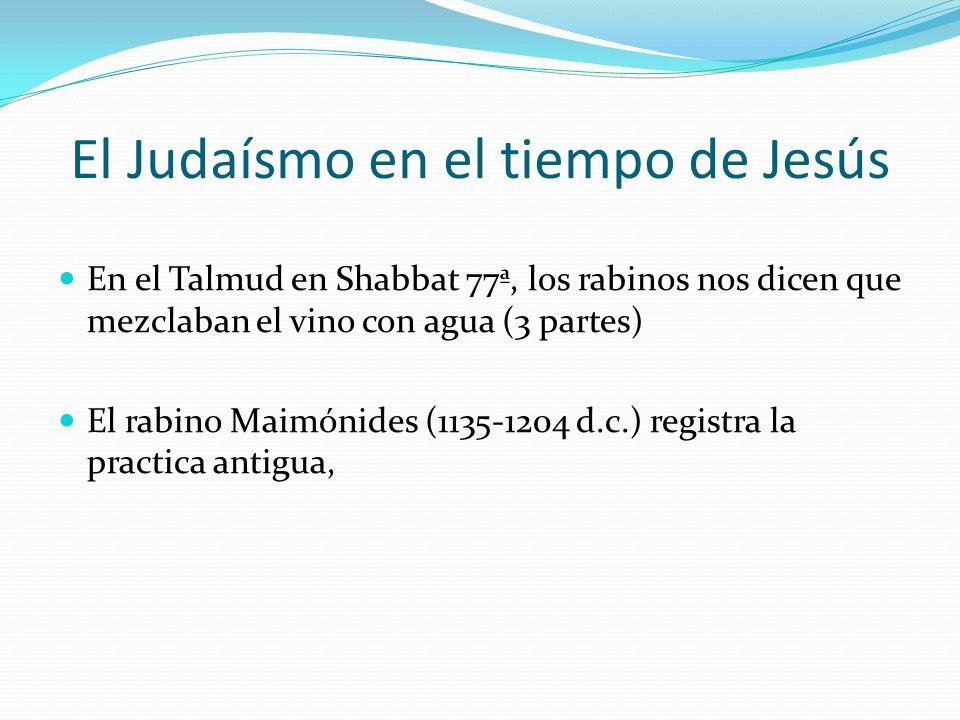 El Judaísmo en el tiempo de Jesús