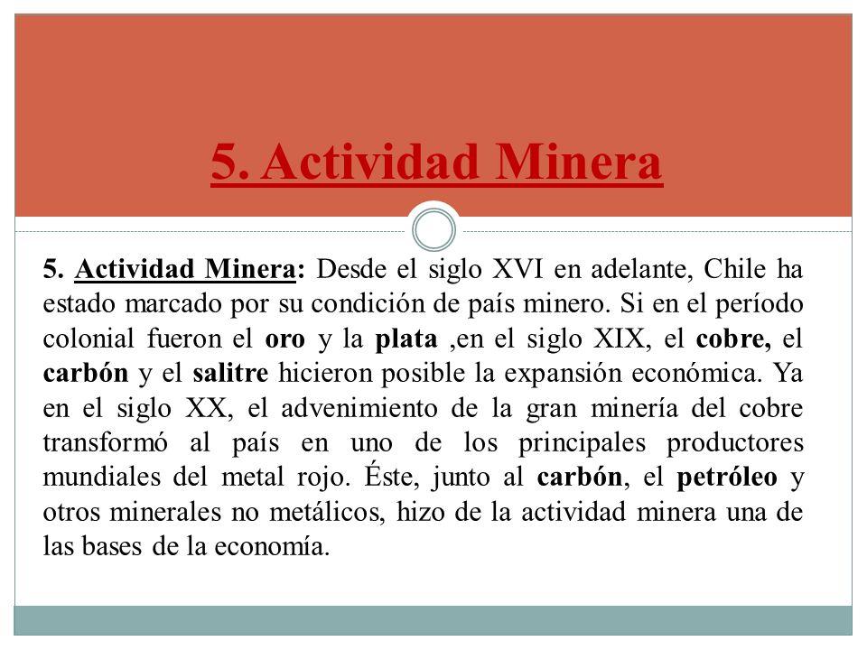 5. Actividad Minera